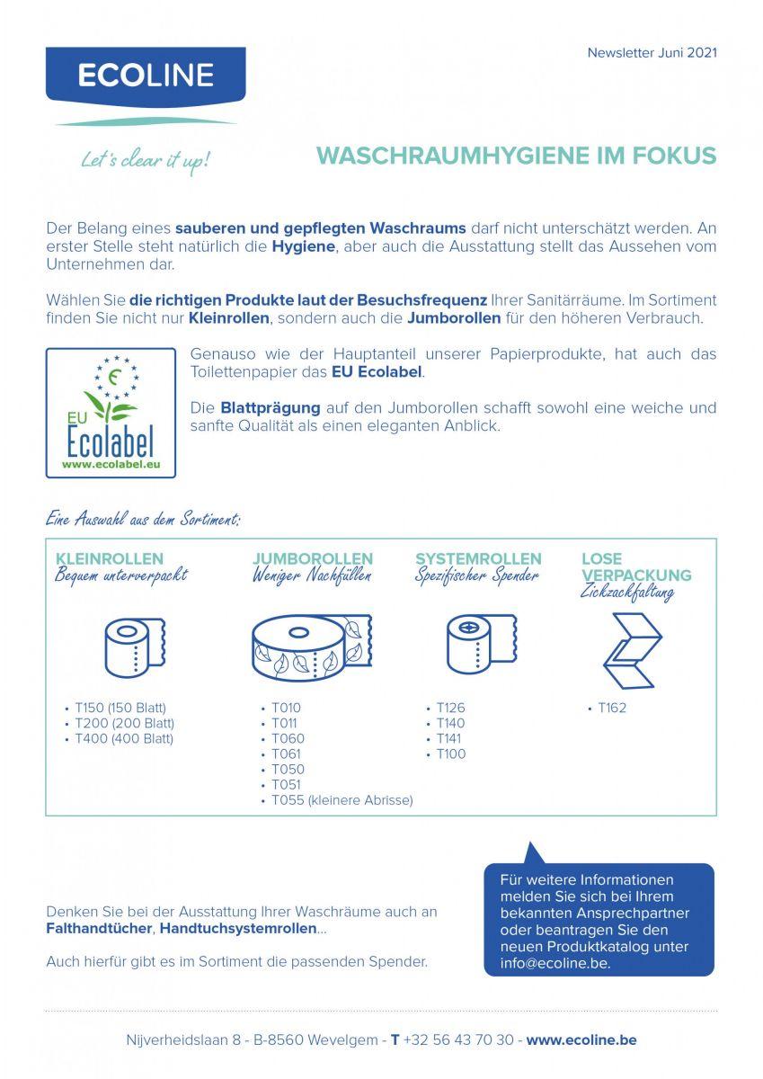 Waschraumhygiene im Fokus